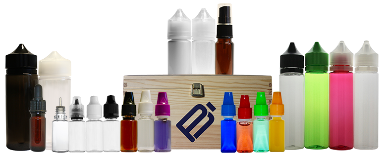 Vape Bottles in 10ml, 30ml, 60ml and 120ml. 10ml with Berrycap in 19.5mm or 20.5mm. CBD Sprays and Pipettes. Amber PET Product Specialist.